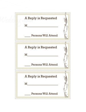 Free Printable Rsvp Cards Printable Whisper Of Nature Rsvp Cards Template