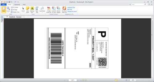 Free Printable Shipping Label Template Tips & Tricks How Do I Print A Shipping Label to A Pdf