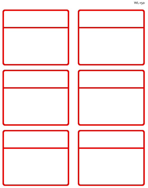 Free Printable Shipping Label Template to and From Designed Shipping Label Templates