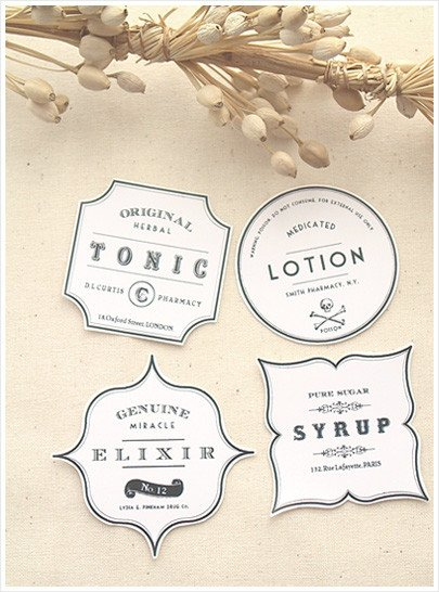 Free Printable soap Label Templates Diy Vintage Apothecary Bottles – Free Label Download