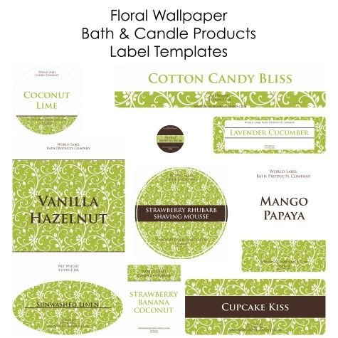 Free Printable soap Label Templates Free soap and Candle Making Labels In Printable Templates
