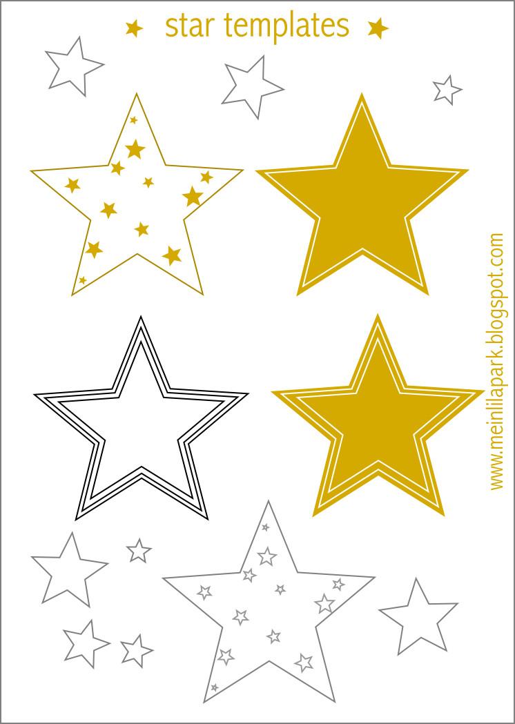 Free Printable Star Template Free Printable Star Templates 16 Last Minute Diy