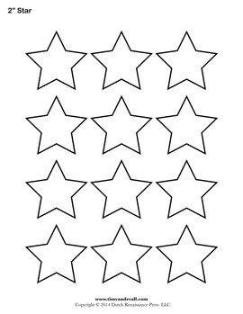 Free Printable Star Template Printable Star Templates