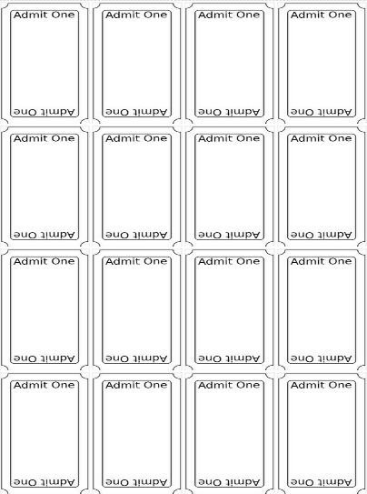 Free Printable Ticket Templates Best 20 Ticket Template Ideas On Pinterest