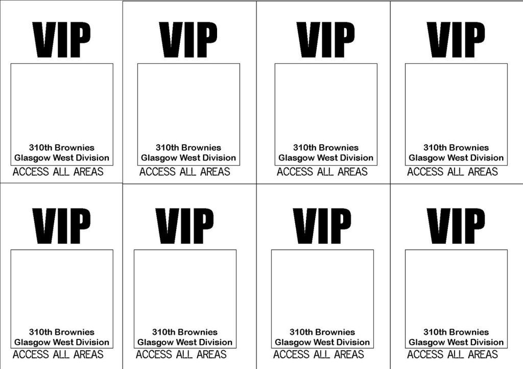 Free Printable Vip Pass Template Free Printable Vip Ticket Access Template Example with