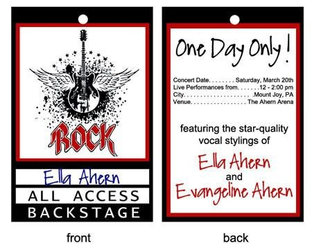 Free Printable Vip Pass Template Pinterest • the World's Catalog Of Ideas