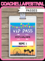 Free Printable Vip Pass Template Printable Party Passes Sports All Star Passes
