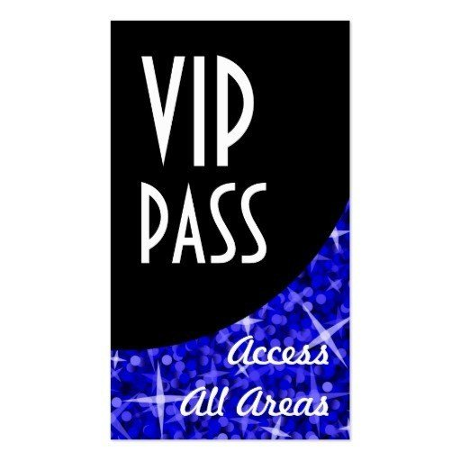 Free Printable Vip Pass Template Vip Pass Template Free Download Aashe