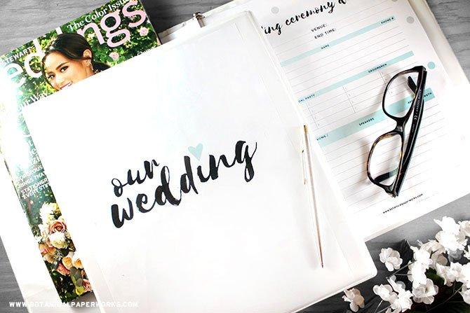 Free Printable Wedding Binder Templates Free Printables New Wedding Planning Binder Download