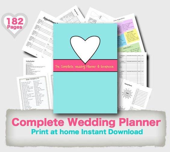 Free Printable Wedding Binder Templates Wedding Planner Binder Printable Evergreen Wedding Planner