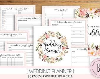 Free Printable Wedding Binder Templates Wedding Planner