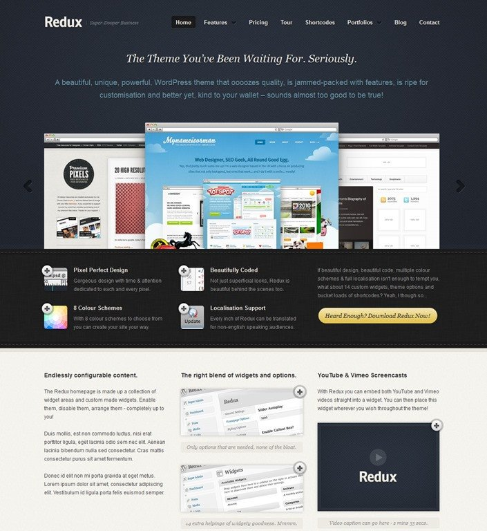 Free Professional Dreamweaver Templates 30 Professional Wordpress App themes and HTML Templates