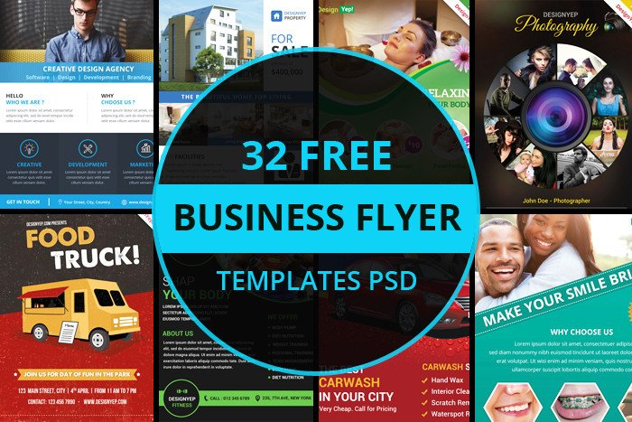Free Psd Business Flyer Templates 32 Free Business Flyer Templates Psd for Download Designyep