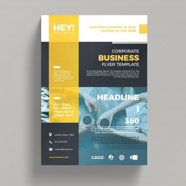 Free Psd Business Flyer Templates Creative Corporate Business Flyer Template Psd File