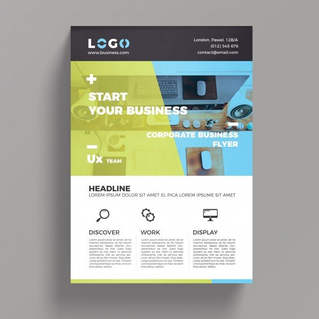 Free Psd Business Flyer Templates Elegant Corporate Business Flyer Template Psd File