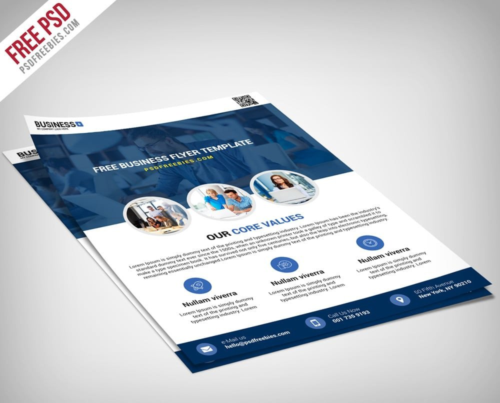 Free Psd Business Flyer Templates Free Flyer Templates Psd From 2016 Css Author