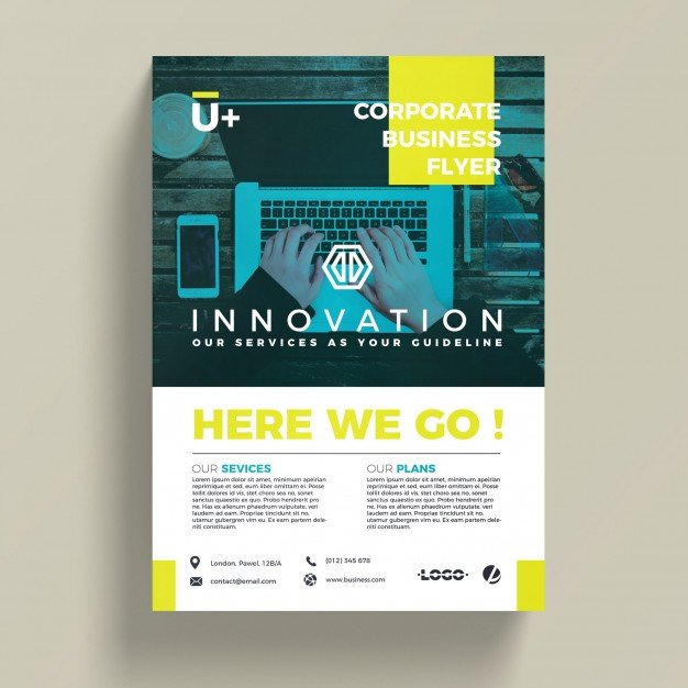 Free Psd Business Flyer Templates Innovative Corporate Business Flyer Template Psd File