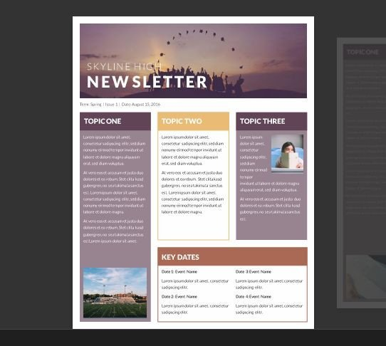 Free Publisher Newsletter Templates Best 25 Microsoft Publisher Ideas On Pinterest