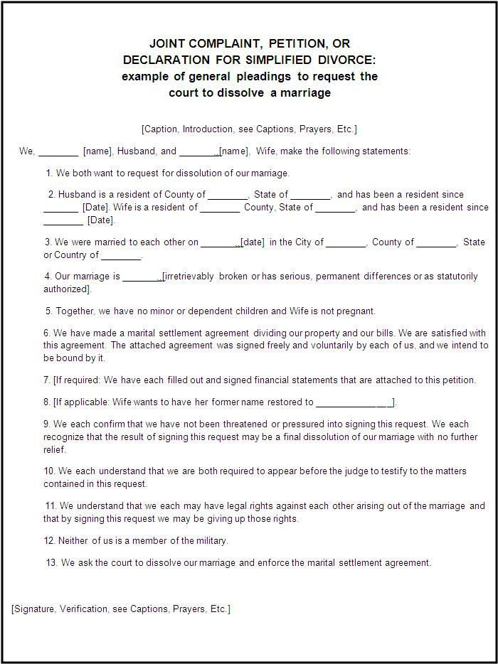 Free Qdro form Download Divorce forms