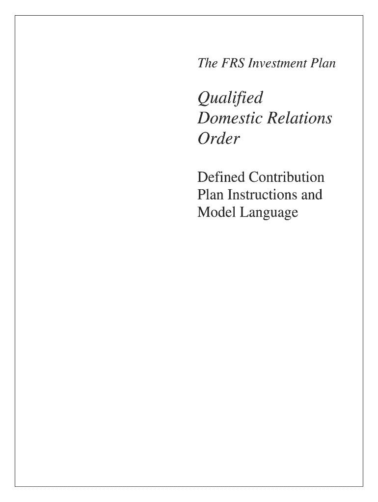 Free Qdro form Download Qdro form Fill Line Printable Fillable Blank