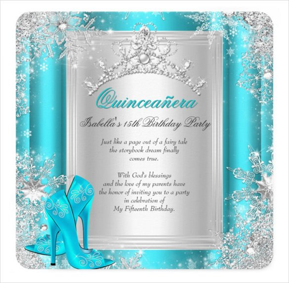 Free Quinceanera Invitation Templates 20 Quinceanera Invitation Templates Word Psd Ai Eps
