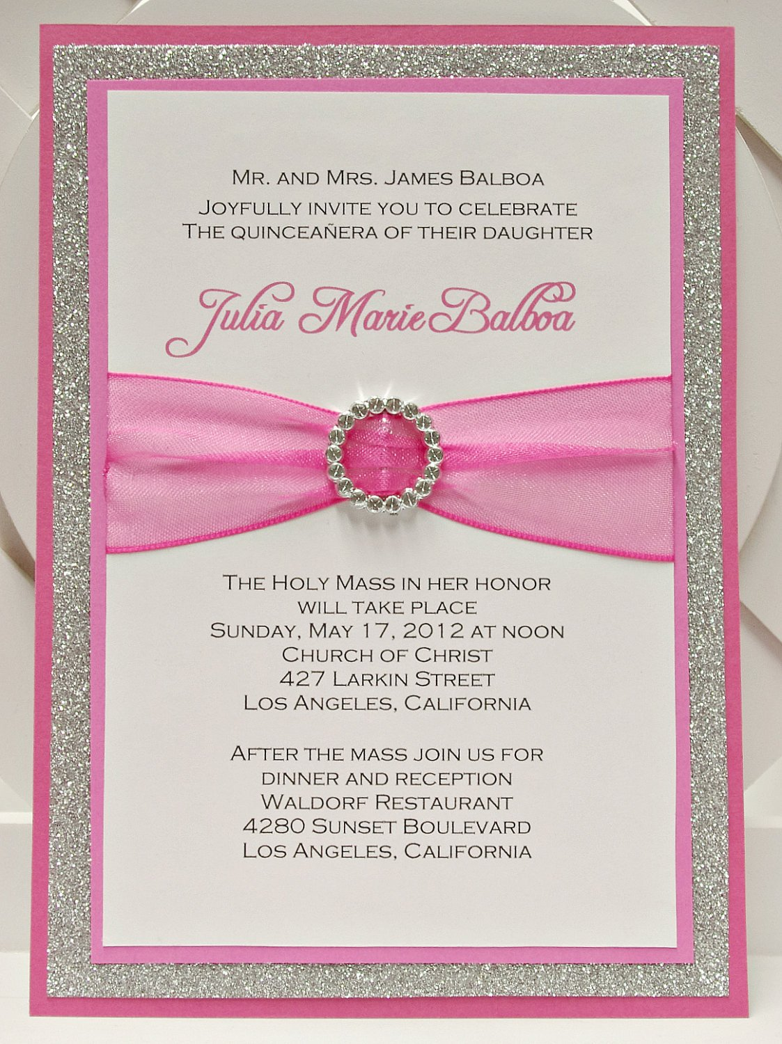 Free Quinceanera Invitation Templates Quince Invitation Templates