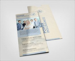 Free Rack Card Mockup Book Display Mockup