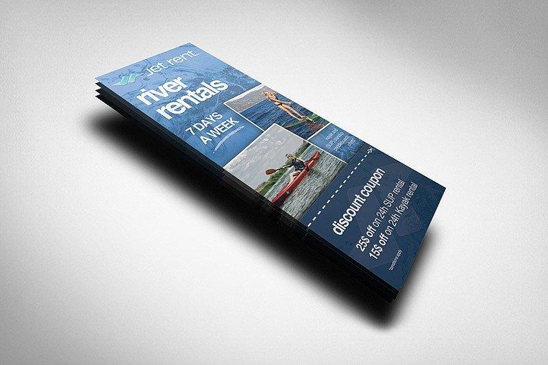 Free Rack Card Mockup Rack Card Mockup 2 Product Mockups On Creative Market