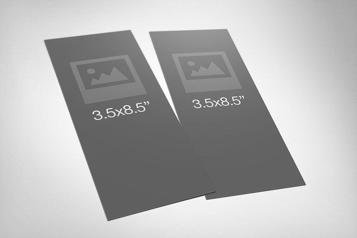 Free Rack Card Mockup Rack Card Mockup 3 Product Mockups On Creative Market