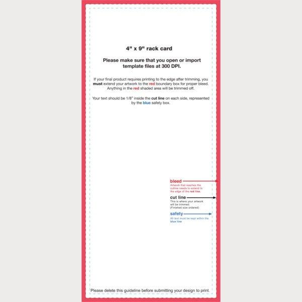 Free Rack Card Template 39 Free Rack Card Templates Psd Ai Word Indesign
