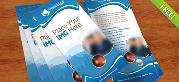 Free Rack Card Template 40 Best Free Psd Print Templates Free Psd Files