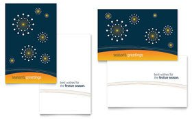 Free Rack Card Template Free Greeting Card Word & Publisher Template