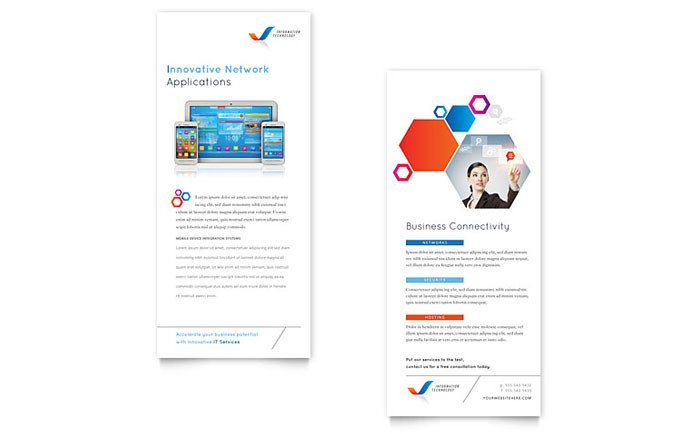 Free Rack Card Template Free Rack Card Template Download Free Ready Made Designs