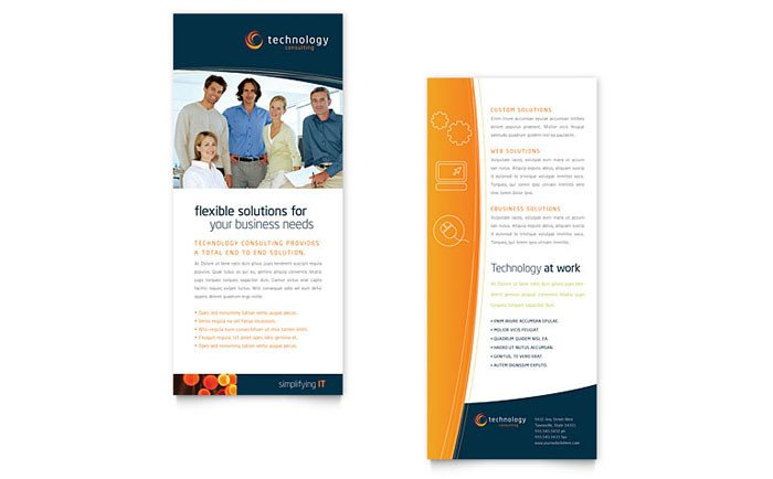 Free Rack Card Template Free Rack Card Template Download Free Sample Layouts