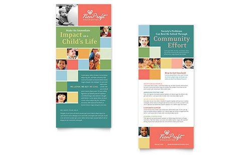 Free Rack Card Template Free Rack Card Template Microsoft Word & Publisher