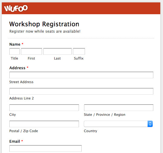 Free Registration forms Template top 5 event Registration form Templates