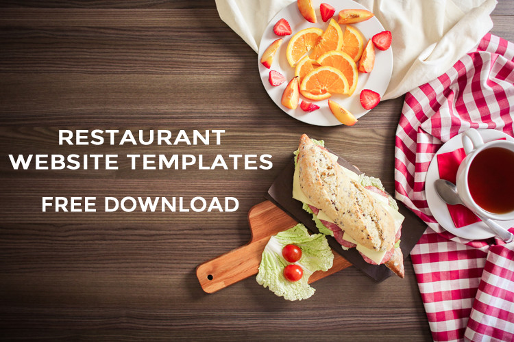 Free Restaurant Website Templates 30 Responsive HTML5 Bootstrap Based Free Restaurant