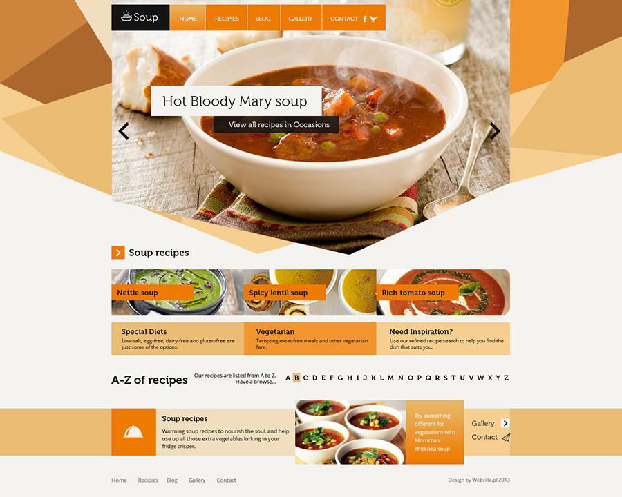Free Restaurant Website Templates 40 Restaurant Templates Suitable for Professional Business