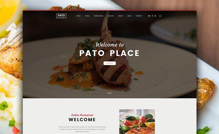 Free Restaurant Website Templates Free Multi Page HTML5 Bootstrap Restaurant Website Template