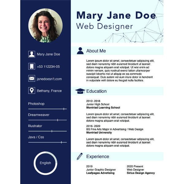 Free Resume Template Pdf 36 Sample Cv Templates Pdf Doc