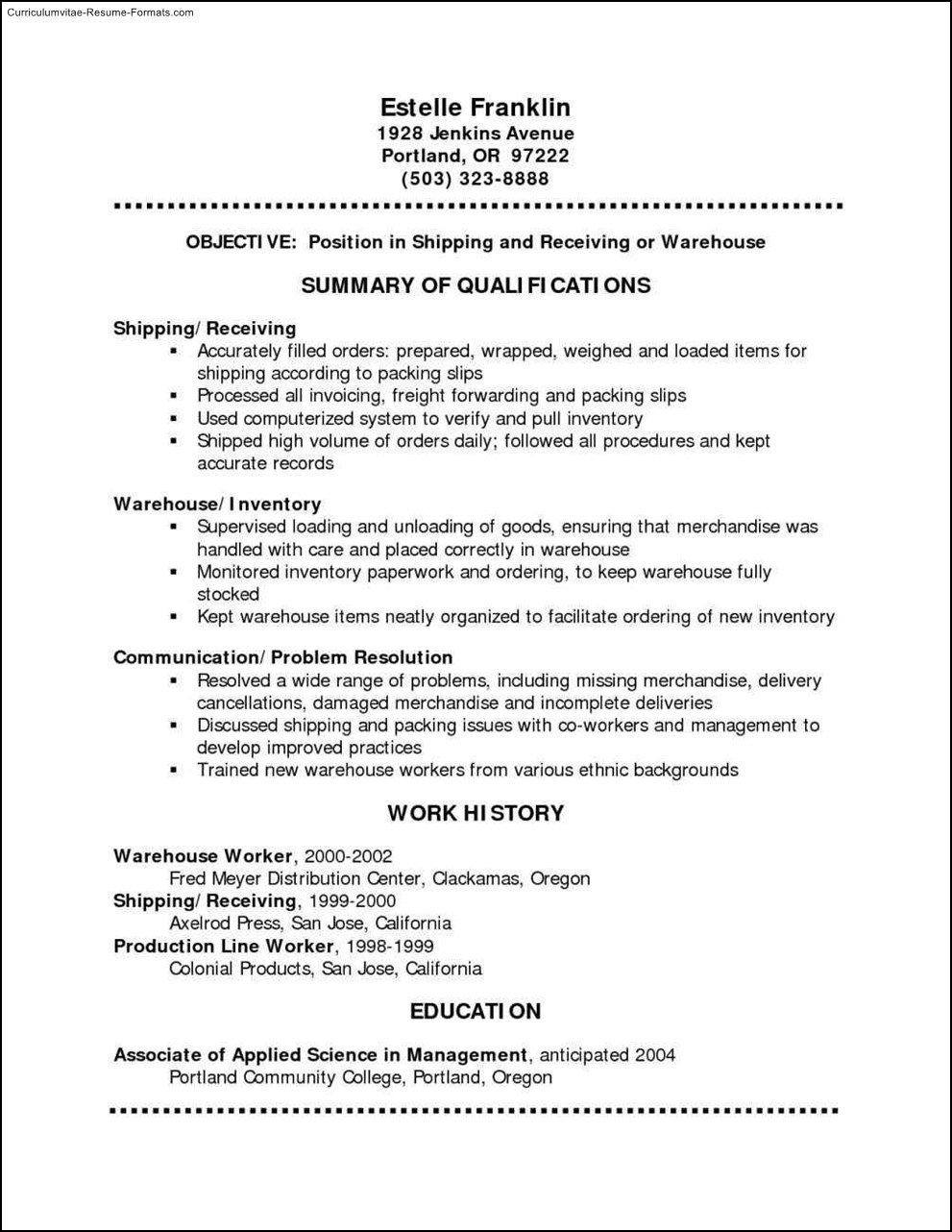 Free Resume Template Pdf Free Resume Templates Pdf format