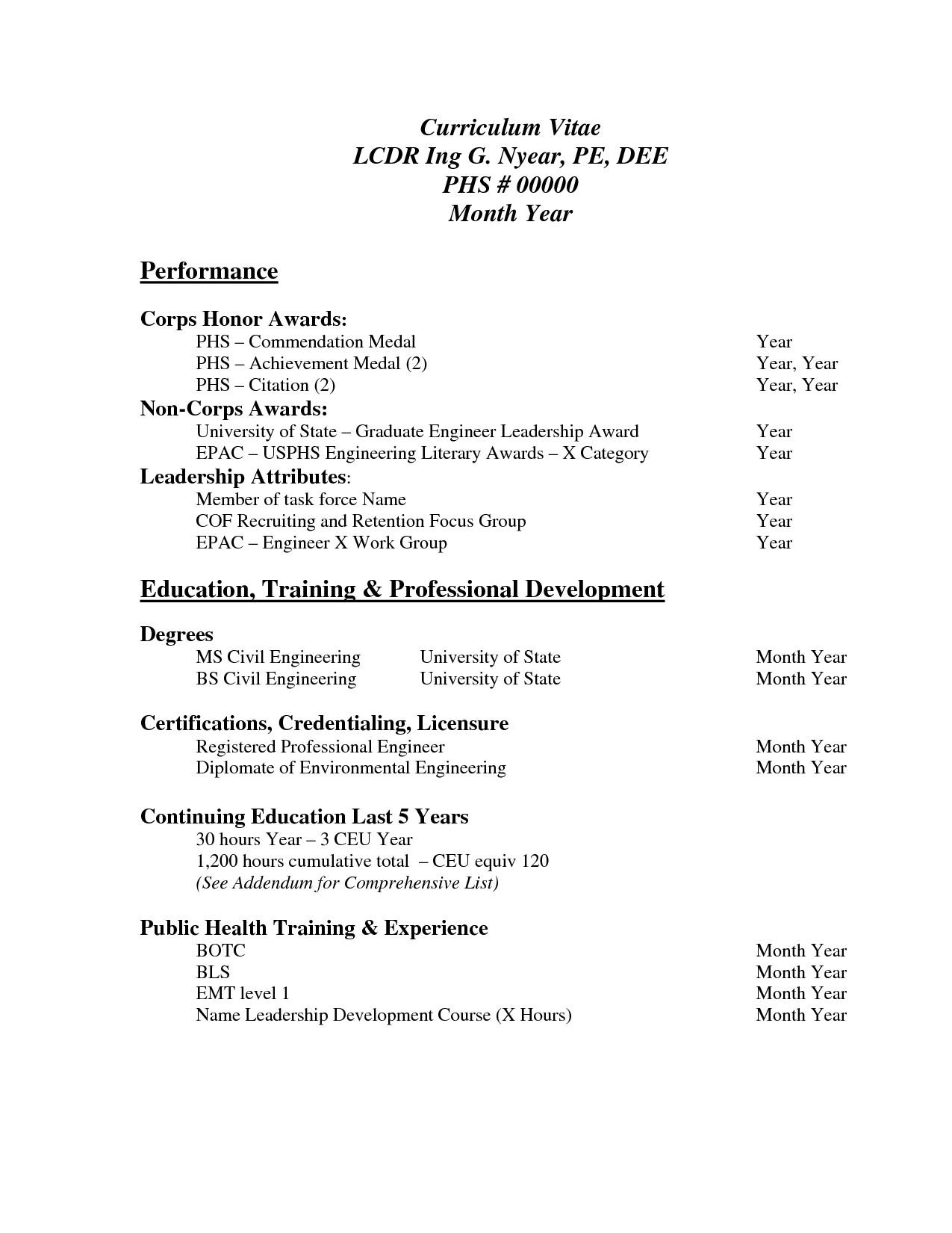 Free Resume Template Pdf Pin Oleh Jobresume Di Resume Career Termplate Free