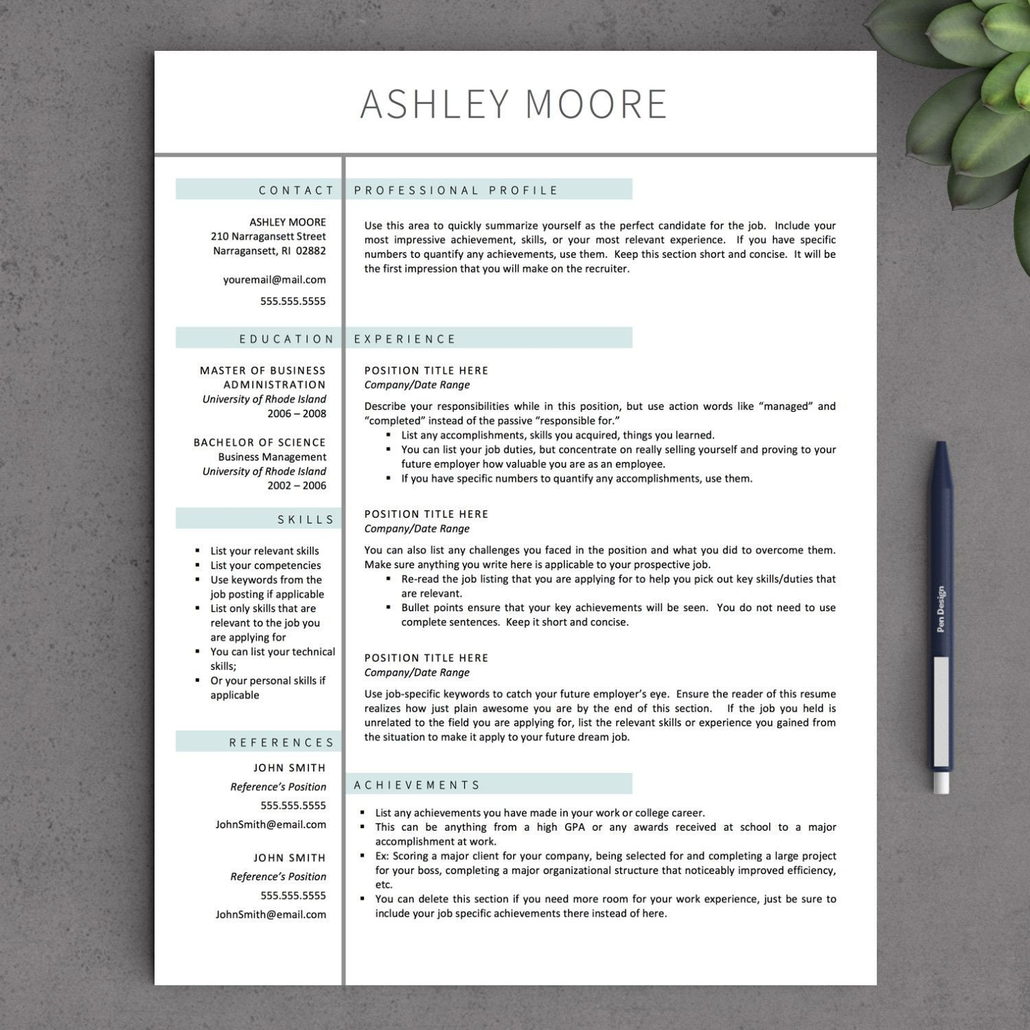 Free Resume Templates for Pages Apple Pages Resume Template Download Apple Pages Resume