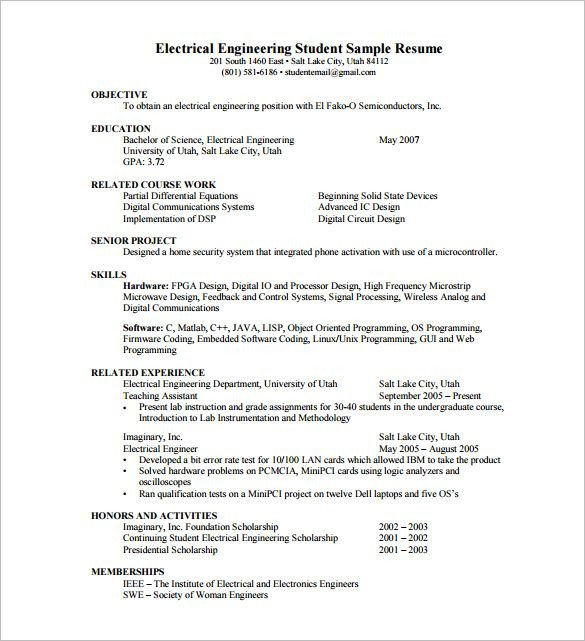 Free Resume Templates Pdf Resume Template for Fresher 10 Free Word Excel Pdf