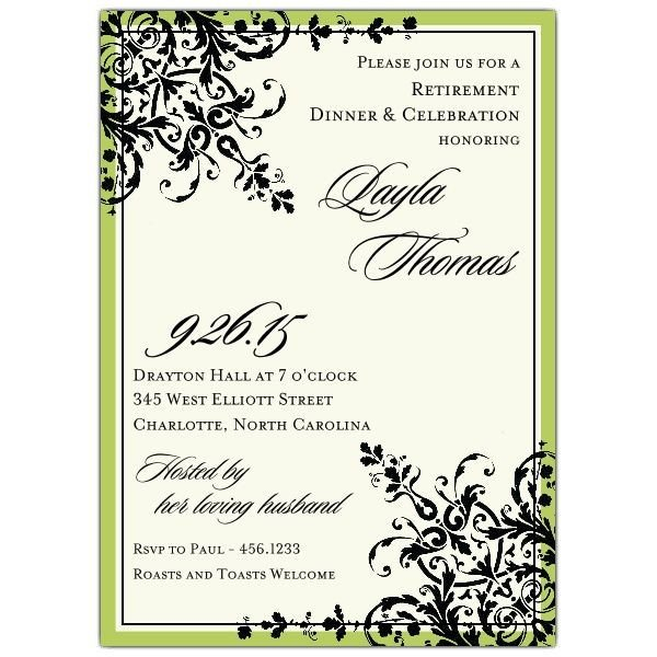 Free Retirement Invitation Templates Retirement Party Invitations Templates