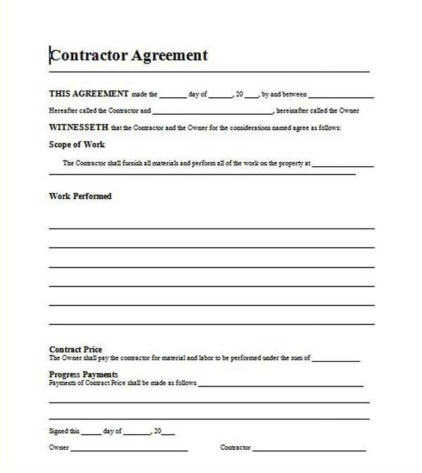 Free Roofing Contract Template 12 Best Proposal Images On Pinterest