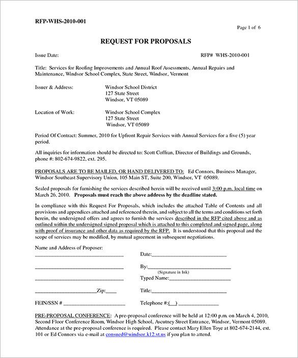 Free Roofing Contract Template 6 Roofing Contract Templates – Free Pdf format Download