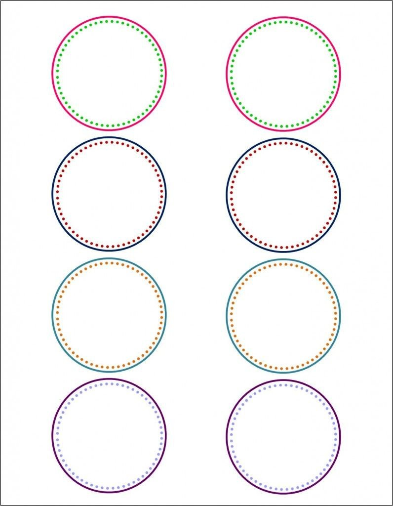 Free Round Label Templates Round Labels On Pinterest