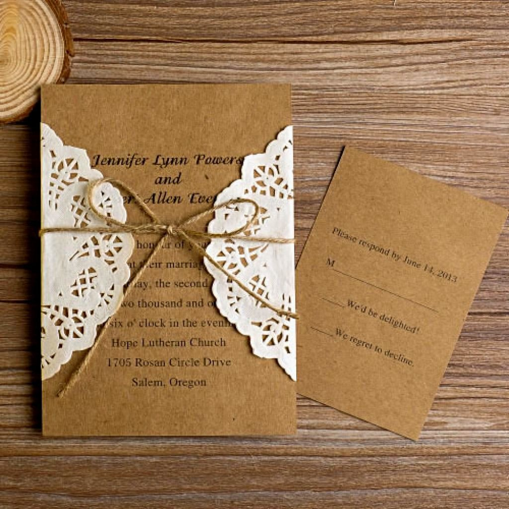 Free Rustic Wedding Invitation Templates Sunshinebizsolutions