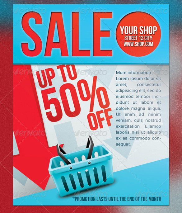 Free Sale Flyer Template 77 Sales Flyer Template Psd Docs Pages Ai